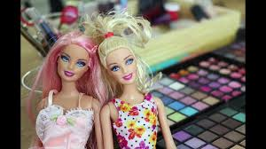 halloween how to look like barbie makeup transformation doll