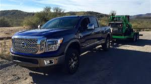 nissan titan cummins towing capacity 2016 nissan titan xd towing and trailering review youtube