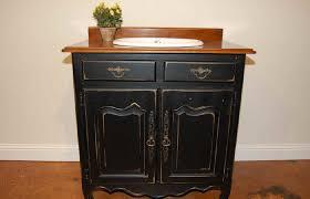 Upscale Bathroom Vanities Bathroom Vanity Finish Distressed Cabinet Black Diy Cabinets