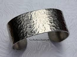 cuff metal bracelet images Hammered cuff bracelet textured metal cuff wide cuff jpg