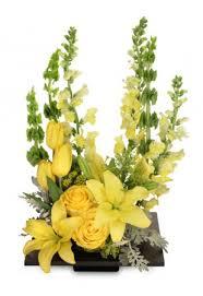auburn florist yolo yellow arrangement in auburn ma auburn florist