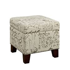Enchanted Home Storage Ottoman Interesting Enchanted Home Storage Ottoman With Storage Ottomans