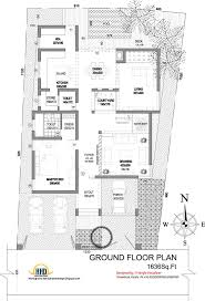modern house elevation 2831 sq ft home appliance floorplan modern house elevation 2831 sq ft home appliance floorplan w courtyard pinterest house elevation ground floor and modern