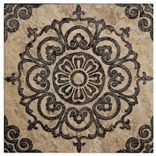 backsplash travertine tile natural stone tile the home depot
