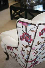 Antique Queen Anne Wing Back Chairs This Chair Has Sold But If You Would Like To Customize Your Own We