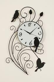 Wall Clock Design Cozy Birds Wall Clock 134 Karlsson Diy Birds Wall Clock Bird