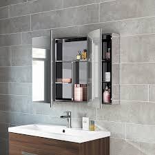 Bathroom Cabinets Mirrored 600 X 900 Stainless Steel Bathroom Mirror Cabinet Modern