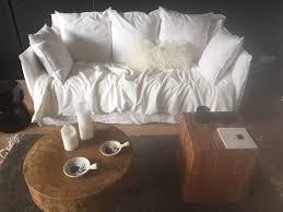 canapé ghost canapé ghost blanc ghost sofa white linen secret maison