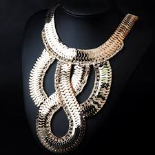 gold plated statement necklace images Wholesale new design jewelry accessories fashion scale gold plated jpg