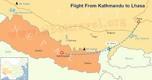 Airline Route Maps by Map Of India And Nepal Nepal India Border Map India Tourist Map