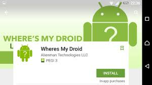 where s my phone android where s my droid android find my phone app review