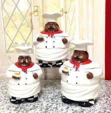 cupcake canisters for kitchen kitchen decor sets buy bistro chef canister set ceramic by in