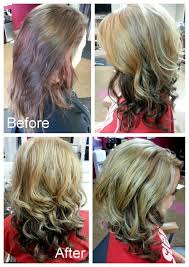 dark hair underneath light on top nice light blonde hair with dark brown underneath blonde on top and