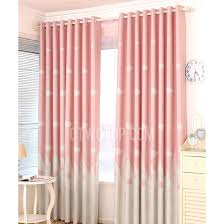 Gray And Pink Curtains Gray And Pink Durable Polyester Insulated Room Curtains