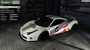 ferrari transformer martini ferrari 458 italia libertywalk gta5 mods com