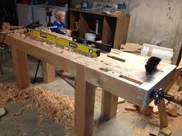 the naptime woodworker workbench leg joinery 2