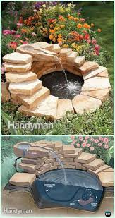 Diy Patio Fountain Diy Garden Fountain Landscaping Ideas U0026 Projects With Instructions