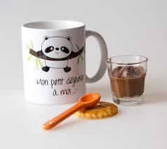 cadeaux cuisine mug personnalisable petit panda pour enfant idée cadeau
