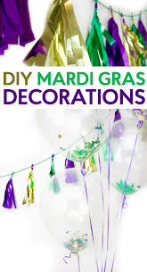 diy mardi gras decorations a craft in your day