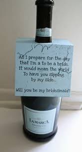 asking bridesmaid ideas creative ways to ask your bridesmaid to be in your wedding lip