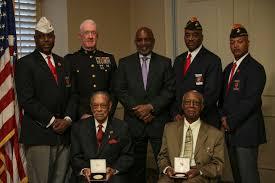 Usmc Flag Officers L To R Retired Cwo 4 James T Averhart National President Of
