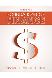 manual for foundations of finance 9th edition by keown