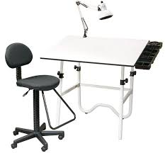 Drafting Table And Chair Set Drafting Table Chair L Alvin Onyx Creative Center