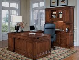 furniture classic design of l shaped desk with hutch and drawers