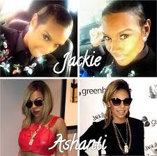 general hairstyles jackie christie and ashanti debut new hairstyles