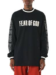 women motocross gear fear of god graphic print motocross jersey in black for men lyst