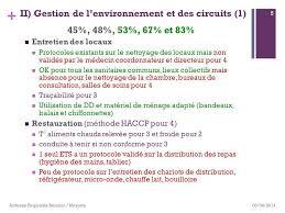 protocole nettoyage bureau evaluation de la maîtrise du risque infectieux ppt