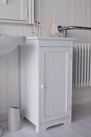 White Wood Free Standing Bathroom Storage Cabinet Unit by Small Freestanding Bathroom Storage Units Brightpulse Us