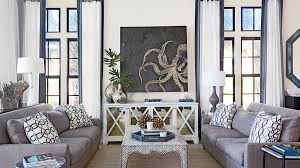 Beautiful Beachy Living Rooms Coastal Living - Coastal home interior designs