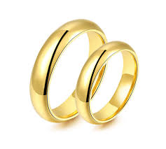 wedding ring philippines prices classic yellow gold plated titanium wedding ring zoey