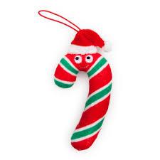 yummy world candy cane plush ornaments 4 pack kidrobot