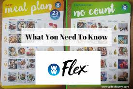weight watchers flex what you need to know a life of lovelya