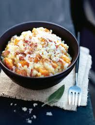 cuisine potiron recette risotto au parmesan potiron et sauge