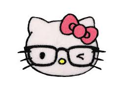 kitty glasses etsy