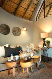 African Decor Idea Living Room Decorating Ideas Theme Room South