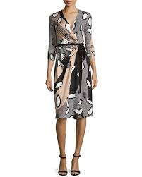 dvf wrap dress diane furstenberg elizabel printed silk wrap dress