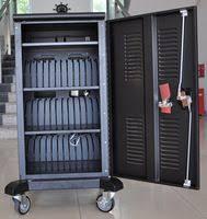 Laptop Storage Cabinet Universal Tablet Charging Cabinet 8 Unit Tablet Charging Carts