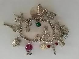 vintage silver bracelet charms images Vintage silver charm bracelets local classifieds buy and sell jpg