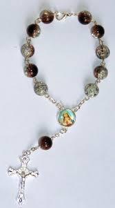 italian rosary italian glass mini rosary