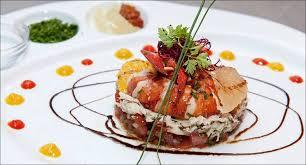 assiette cuisine fraicheur marine en ces premières chaudes visions gourmandes