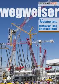 schuh braun friedrichsdorf wegweiser bauma 2016 by come2print verlag und medienagentur issuu