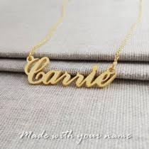 Custom Made Name Necklace Custom Made Name Necklace