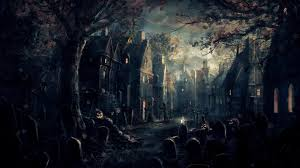 halloween background anime 1920x1080 halloween desktop wallpaper download free awesome full hd