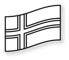 iceland flag black white coloring book colouring colouringbook org