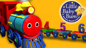 numbers song for children 1 to 20 number train by