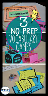 25 best vocabulary games ideas on pinterest vocabulary